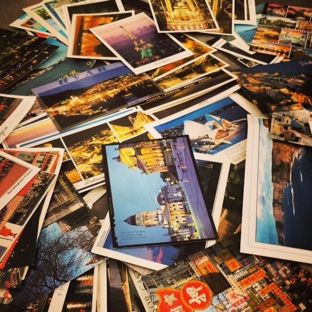 Postcards from Memories