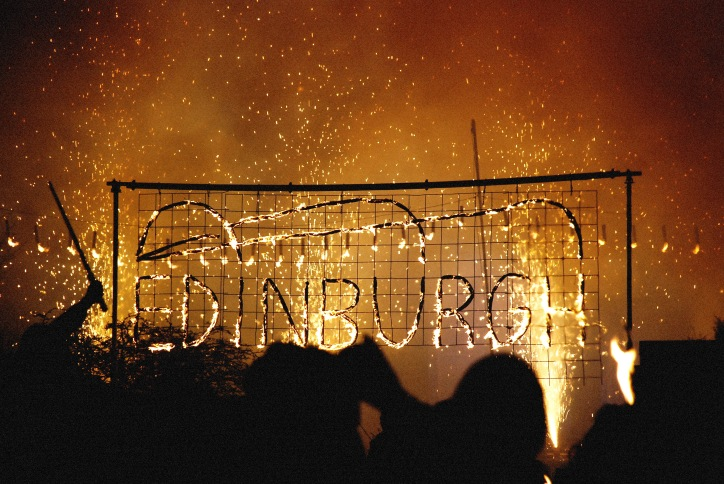 Hogmanay - Torchlight Procession