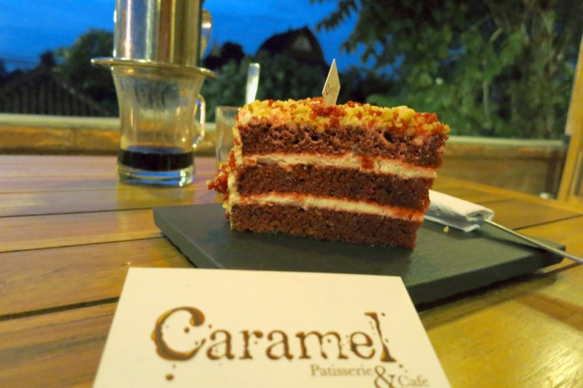 Red Velvet Cake - light but very rich in flavour.