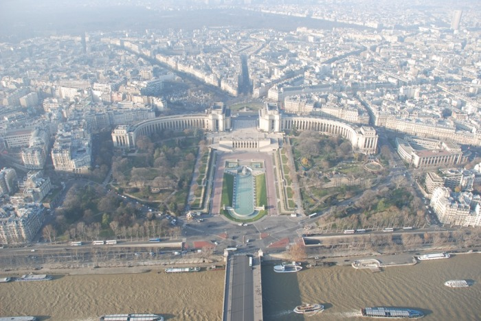 No other place in Paris will give you this view.  It is not until you are up this high that you can fully appreciate the size and layout of this city.