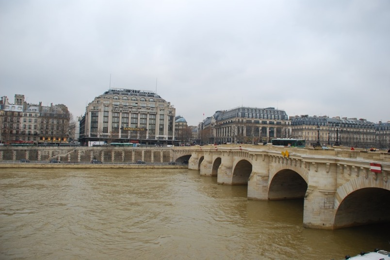So many gorgeous little bridges across Le Seine - give yourself time to explore them.