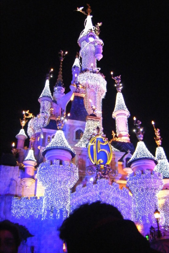 Sleeping Beauty Castle - the #1 most recognisable of all Disney attractions.  If you stay till late you will enjoy seeing it lit up at night.