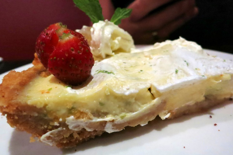 Wifey had - Classic Key Lime Pie (Rp. 60k).