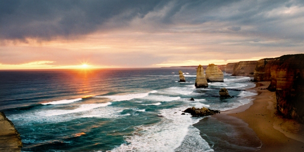 The famous Twelve Apostles located on the Great Ocean Road in Victoria to me the very definition of something ephemeral.