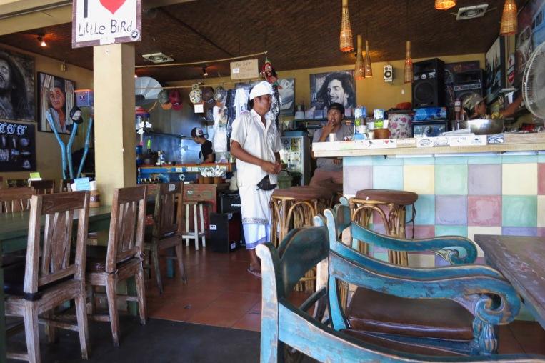 Warung Little Bird - Very cute little Warung.  Always popular (according to Trip Advisor the #4 of all Sanur Restaurants).
